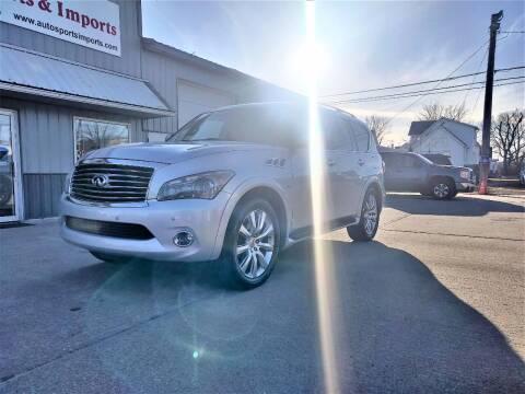 2014 Infiniti QX80 for sale at Habhab's Auto Sports & Imports in Cedar Rapids IA