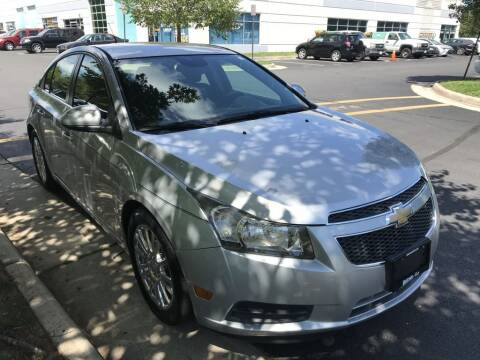 2012 Chevrolet Cruze for sale at Dotcom Auto in Chantilly VA