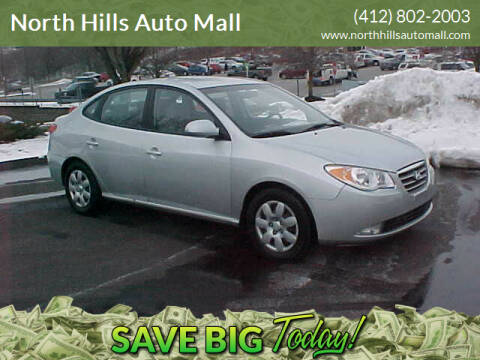 2008 Hyundai Elantra for sale at North Hills Auto Mall in Pittsburgh PA