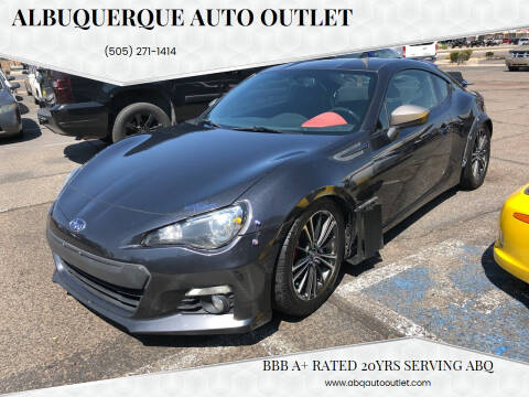 2015 Subaru BRZ for sale at ALBUQUERQUE AUTO OUTLET in Albuquerque NM