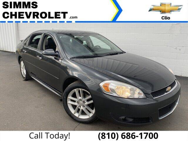 2012 Chevrolet Impala for sale at Aaron Adams @ Simms Chevrolet in Clio MI