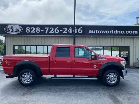 2014 Ford F-250 Super Duty for sale at AutoWorld of Lenoir in Lenoir NC