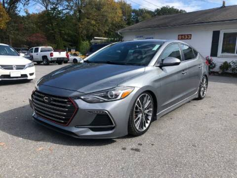 2018 Hyundai Elantra for sale at Sports & Imports in Pasadena MD