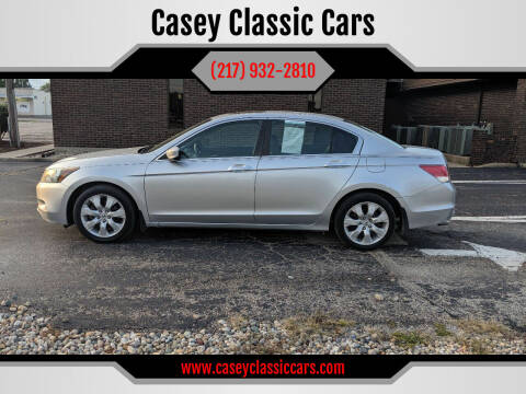 2009 Honda Accord for sale at Casey Classic Cars in Casey IL