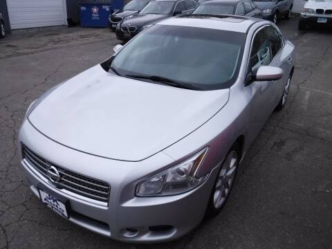 2012 Nissan Maxima for sale at J & K Auto - J and K in Saint Bonifacius MN