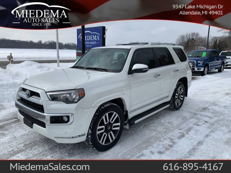 2014 Toyota 4Runner for sale at Miedema Auto Sales in Allendale MI