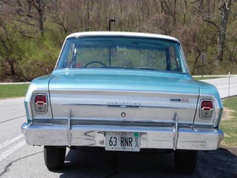1963 Chevrolet Nova for sale at Hines Auto Sales in Marlette MI