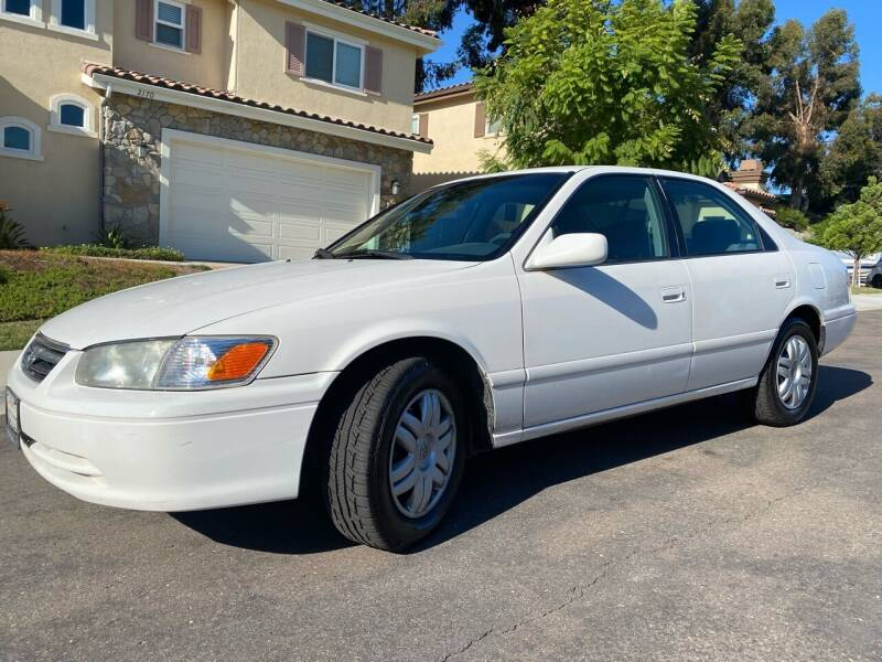 2001 Toyota Camry for sale at CALIFORNIA AUTO GROUP in San Diego CA