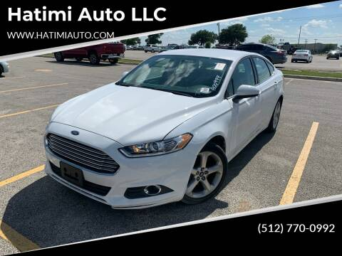 2016 Ford Fusion for sale at Hatimi Auto LLC in Buda TX