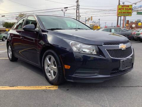 2014 Chevrolet Cruze for sale at Active Auto Sales in Hatboro PA