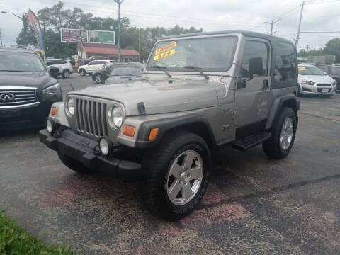 2002 Jeep Wrangler for sale at Smart Buy Auto in Bradley IL