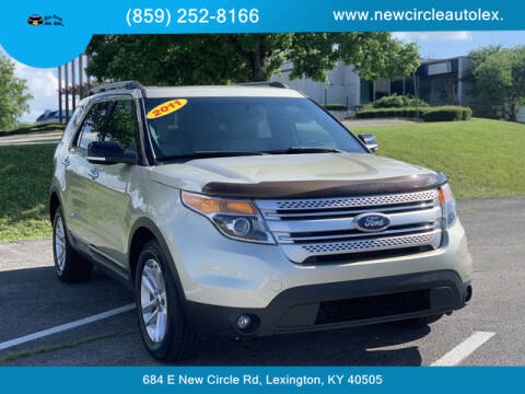 2011 Ford Explorer for sale at New Circle Auto Sales LLC in Lexington KY