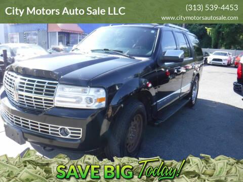 2008 Lincoln Navigator for sale at City Motors Auto Sale LLC in Redford MI