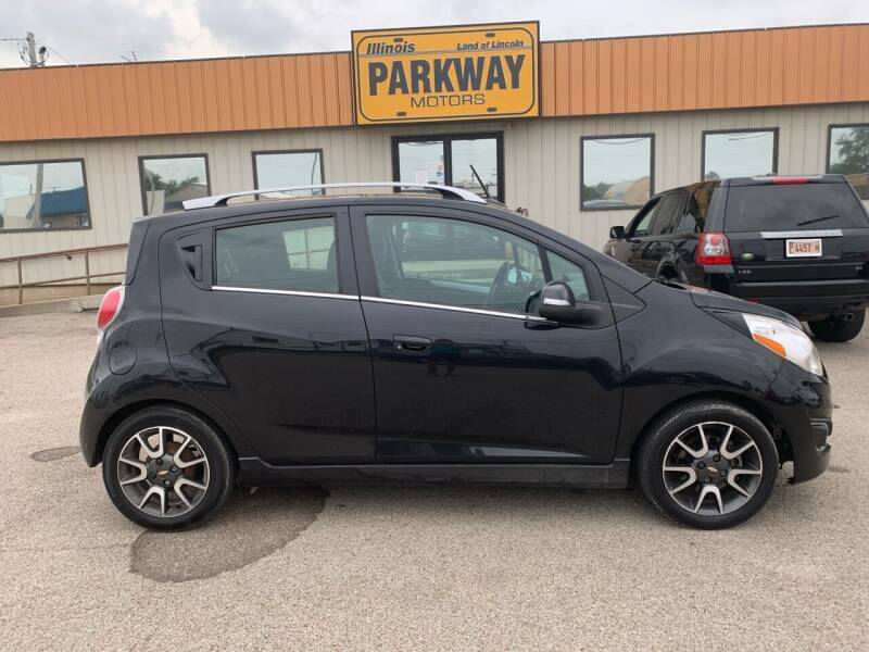 2014 Chevrolet Spark for sale at Parkway Motors in Springfield IL