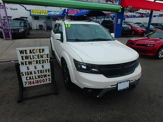 2015 Dodge Journey for sale at 4530 Tip Top Car Dealer Inc in Bronx NY
