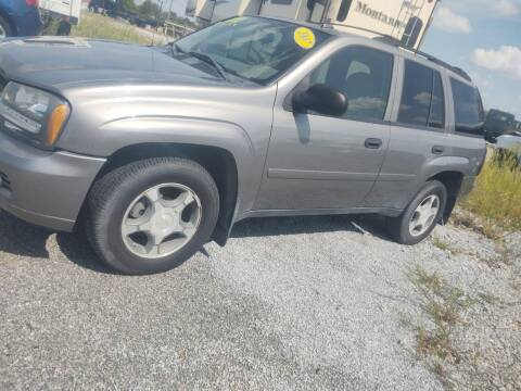 2007 Chevrolet TrailBlazer for sale at Mr E's Auto Sales in Lima OH