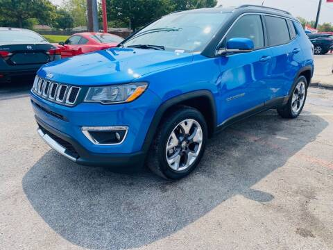 2020 Jeep Compass for sale at Italy Auto Sales in Dallas TX