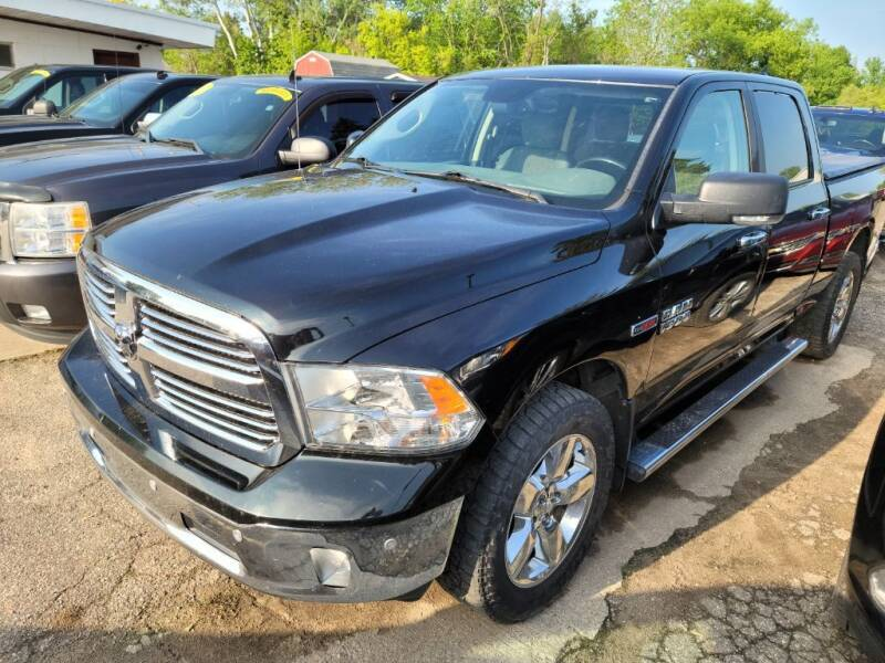 2016 RAM Ram Pickup 1500 for sale at Clare Auto Sales, Inc. in Clare MI