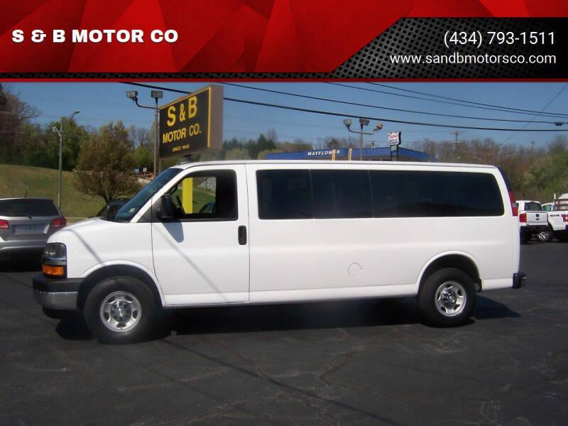 2019 Chevrolet Express Passenger for sale at S & B MOTOR CO in Danville VA