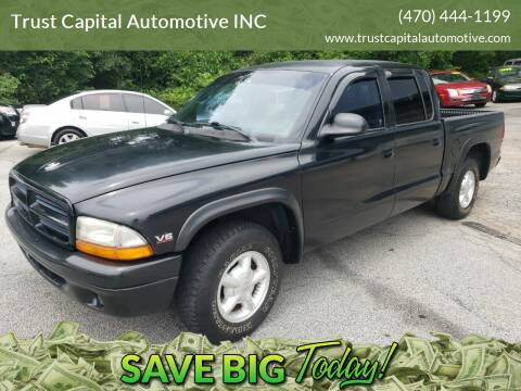 2000 Dodge Dakota for sale at Trust Capital Automotive Inc. in Covington GA