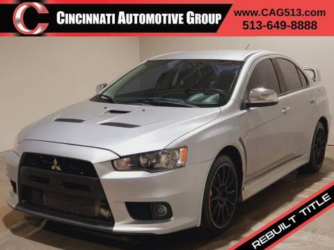 2011 Mitsubishi Lancer Evolution for sale at Cincinnati Automotive Group in Lebanon OH