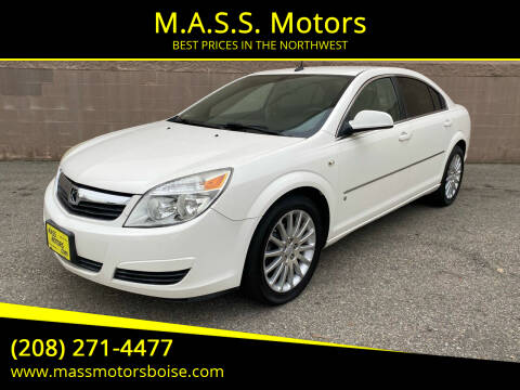 2007 Saturn Aura for sale at M.A.S.S. Motors in Boise ID