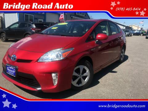 2012 Toyota Prius for sale at Bridge Road Auto in Salisbury MA