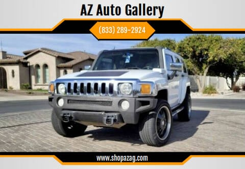 2006 HUMMER H3 for sale at AZ Auto Gallery in Mesa AZ