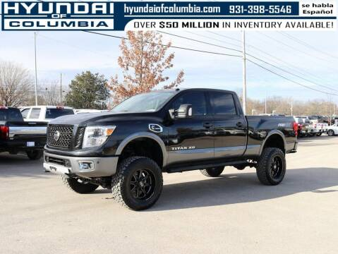 2017 Nissan Titan XD for sale at Hyundai of Columbia Con Alvaro in Columbia TN