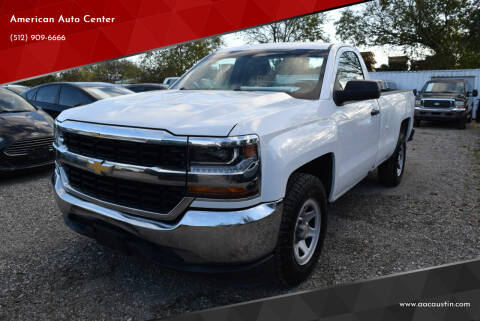 2016 Chevrolet Silverado 1500 for sale at American Auto Center in Austin TX