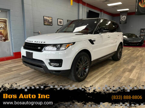 2017 Land Rover Range Rover Sport for sale at Bos Auto Inc in Quincy MA
