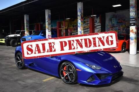 2020 Lamborghini Huracan for sale at STS Automotive - Miami, FL in Miami FL