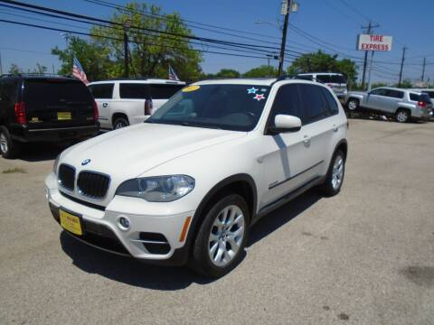 2013 BMW X5 for sale at BAS MOTORS in Houston TX