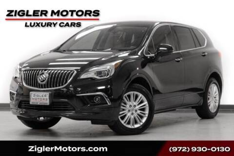 2017 Buick Envision for sale at Zigler Motors in Addison TX