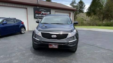 2015 Kia Sportage for sale at Cj king of car loans/JJ's Best Auto Sales in Troy MI