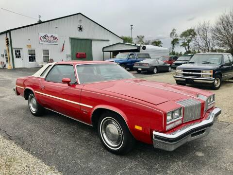 1977 Oldsmobile Cutlass Supreme for sale at 500 CLASSIC AUTO SALES in Knightstown IN