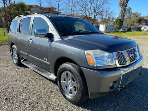 2007 Nissan Armada for sale at Quintero's Auto Sales in Vacaville CA