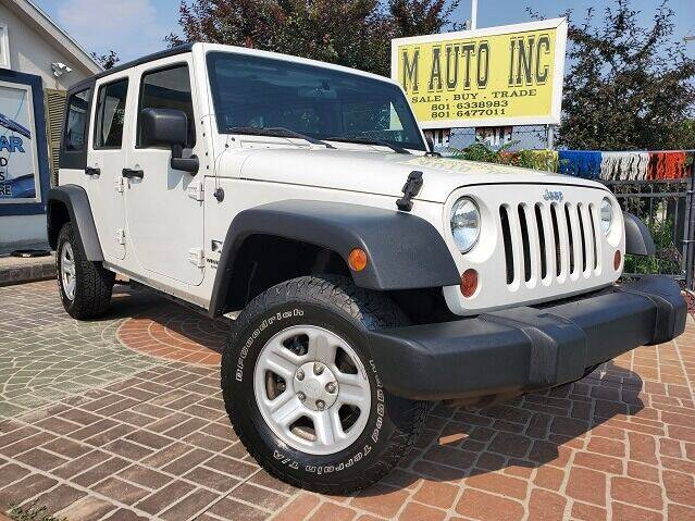 2009 Jeep Wrangler Unlimited for sale at M AUTO, INC in Millcreek UT