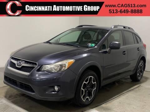 2013 Subaru XV Crosstrek for sale at Cincinnati Automotive Group in Lebanon OH
