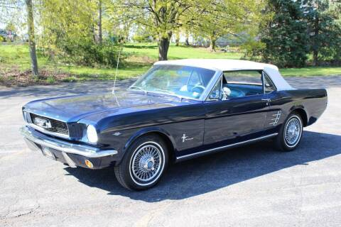 1966 Ford Mustang for sale at Great Lakes Classic Cars & Detail Shop in Hilton NY
