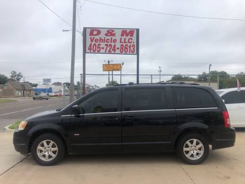 2008 Chrysler Town and Country for sale at D & M Vehicle LLC in Oklahoma City OK