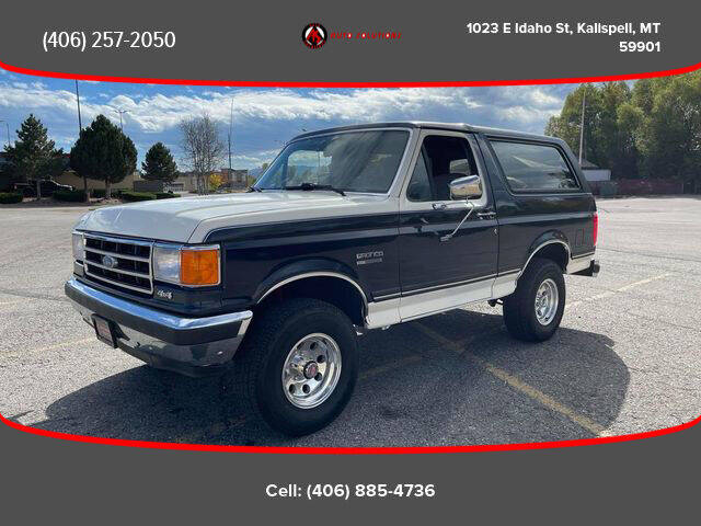 1990 Ford Bronco for sale at Auto Solutions in Kalispell MT