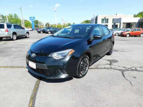 2016 Toyota Corolla for sale at Paniagua Auto Mall in Dalton GA