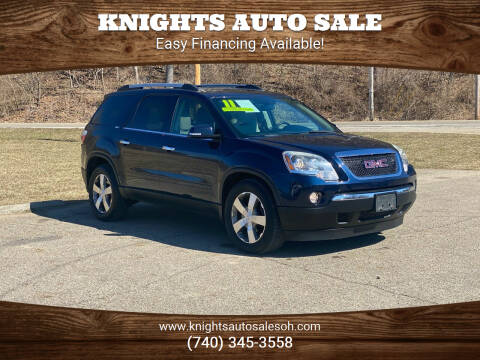 2011 GMC Acadia for sale at Knights Auto Sale in Newark OH