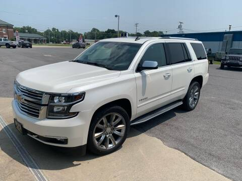 2015 Chevrolet Tahoe for sale at Bennett's Auto Outlet, Inc. in Mayfield KY