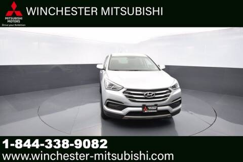 2018 Hyundai Santa Fe Sport for sale at Winchester Mitsubishi in Winchester VA