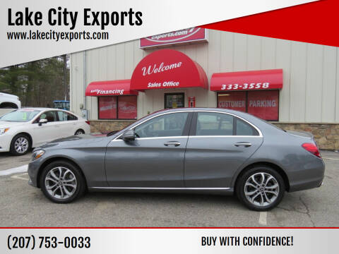 2017 Mercedes-Benz C-Class for sale at Lake City Exports in Auburn ME