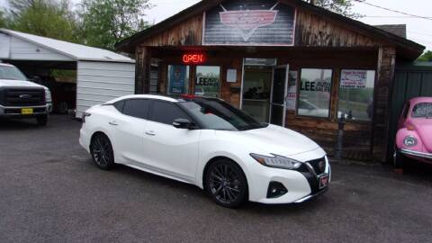 2020 Nissan Maxima for sale at LEE AUTO SALES in McAlester OK