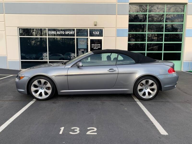 2006 BMW 6 Series for sale at Euro Auto Sport in Chantilly VA