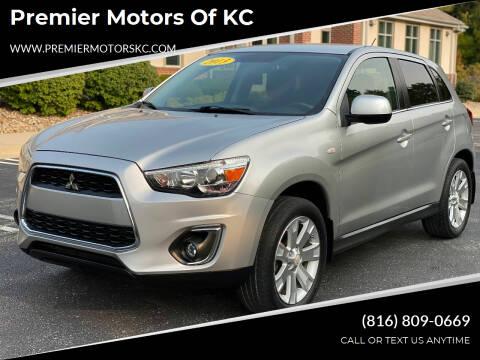 2013 Mitsubishi Outlander Sport for sale at Premier Motors of KC in Kansas City MO